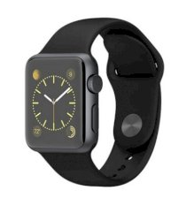 Đồng hồ thông minh Apple Watch Sport 38mm Space Gray Aluminum Case with Black Sport Band