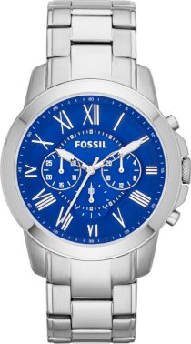 Fossil Men's Grant Watch with Link Bracelet 44mm 64954