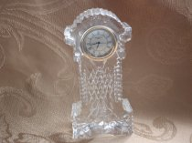 Waterford Crystal Charming Mini Grandfather Clock, Collectible, Presented in a Gift Box