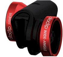Ống kính Olloclip 4-in-1 Photo Lens for iPhone 6/6 Plus (Red Lens with Black Clip)