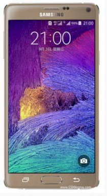 Samsung Galaxy Note 4 (Samsung SM-N910S/ Galaxy Note IV) Bronze Gold for Korea