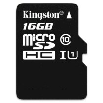 Kingston MicroSDHC 16GB (Class 10) with Adapter