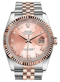 Đồng hồ Rolex Datejust Oyster Steel And Everose Gold 116231-1