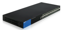 Linksys 28-Port Managed Gigabit PoE+ Switch LGS528P