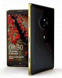 Nokia Lumia 830 Black Gold