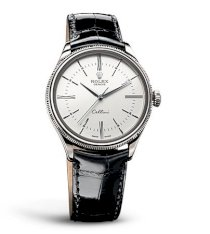 Đồng hồ Rolex Cellini Time White Gold White Lacquer Dial 50509