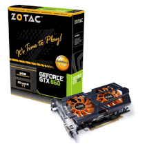 ZOTAC GeForce GTX 660 (ZT-60903-10M) (Nvidia GeForce GTX 660, 2GB DDR5, 192 bit, PCI Express 3.0x16)