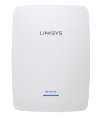 Linksys Simultaneous Dual Band Range Extender 2.4 Ghz and 5 Ghz RE4000W