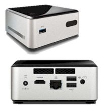 Mini PC Intel NUC DN2820FYKH0 (Intel Celeron Processor N2820 2.4Ghz, Ram 8GB Max, VGA Intel HD Graphics)