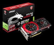 MSI GTX 960 GAMING 2G (NVIDIA Geforce GTX 960, 2GB GDDR5, 128 bits, PCI Express x16 3.0)