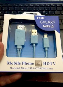Cáp Samsung Galaxy Note 3 ra HDMI