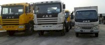 Xe tải Chassis Jac HFC 1183K1
