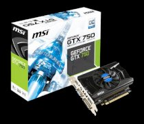 MSI N750 1GD5/OCV1 (NVIDIA GeForce GTX 750, 1024MB GDDR5, 128 bits, PCI Express x16 3.0)