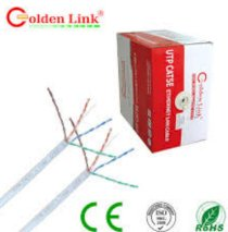 Cáp mạng Golden Link – 4 pair: (UTP Cat 5e) – 100 m
