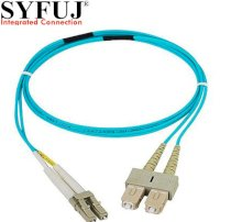 SYFUJ Optical Patch cord LC/UPC-SC/UPC OM3 10GB 3.0mm Duplex 3m (SB4-ULSM33-03DL)