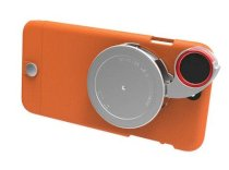 Ống kính 4 trong 1 Ztylus Lite Series Camera Kit for iPhone 6 Plus Orange