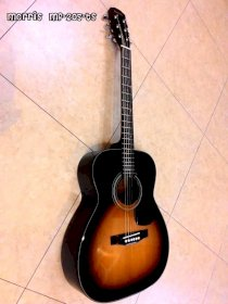 Guitar Acoustic Morris MF-205 TS