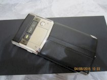 Vertu Signature Touch Jet Calf Leather