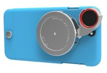Ống kính 4 trong 1 Ztylus Lite Series Camera Kit for iPhone 6 Plus Blue
