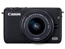 Canon EOS M10 (EF-M 15-45mm F3.5-6.3 IS STM) Lens Kit Black