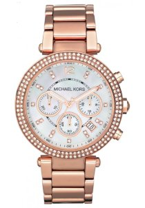Đồng hồ Michael Kors Mid-Size Rose Golden Parker Watch 39MM MK5491