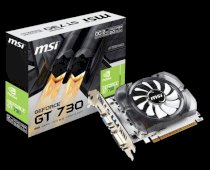 MSI N730K-2GD5/OCV1 (Nvidia GeForce GT 730, 2048 GDDR5, 64 bits,  PCI Express x16 2.0)