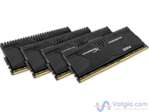 Ram Desktop Kingston HyperX Predator HX430C15PB2K4/16  - DDR4 - 16GB (4x4GB) -  Bus 3000MHz - PC4 24000 kit CL15