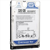 Western Digital 320GB - 5400rpm - 8MB Cache - SATA 3