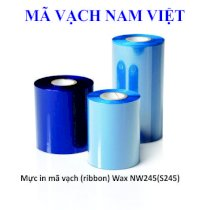 Mực in mã vạch (Ribbon) Wax Premium (110mm x 300m) Outside/ inside