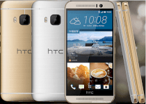 HTC One M9 Prime Camera Gold