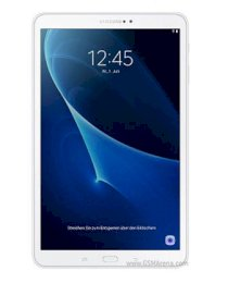 Samsung Galaxy Tab A 10.1 (2016) (SM-T585) (Octa-Core 1.6GHz, 2GB RAM, 16GB Flash Driver, 10.1 inch, Android OS, v6.0) WiFi, 4G LTE Model Pearl White