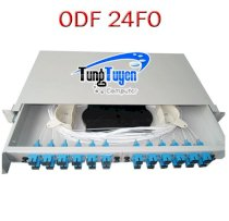 Hộp quang ODF 24 Core, Rack Module 19 inch