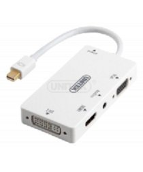 Cáp Mini Displayport to VGA + HDMI + DVI + Audio Unitek Y-6354