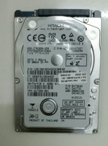 Ổ cứng laptop Hitachi 500GB - 7200rpm - 8MB SATA