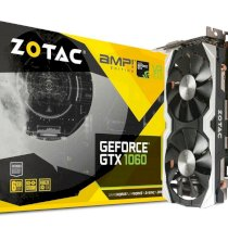 VGA Zotac GeForce GTX 1060 AMP Edition [ZT-P10600B-10M] (GeForce GTX 1060, 6GB, 192-bit, GDDR5, PCI Express 3.0)