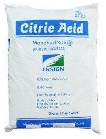 Citric Acid monohydrate ENSIGN (25kg/bao)