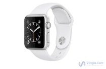 Đồng hồ thông minh Apple Watch Series 1 Sport 38mm Silver Aluminum Case with White Sport Band