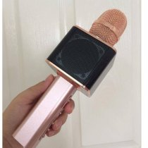 Micro Karaoke liền loa bluetooth Magic YS-10 - màu đen