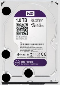 Western Digital Caviar Purple - 1TB - IntelliPower - 64MB cache - Sata 6 Gb/s (WD10PURX)