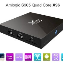 TV Box 4K X96 Android 6.0 2G RAM 4CPU x 2G Core A53 2016 HC