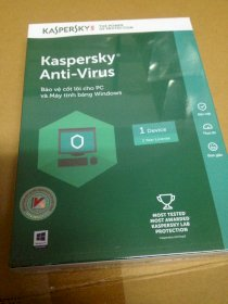 Kaspersky anti-virus 2017 1PC/1 năm