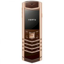 Vertu Signature S Limited Pure Chocolate Red Gold
