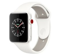 Đồng hồ thông minh Apple Watch Edition Series 3 42mm White Ceramic Case with Soft White/Pebble Sport Band