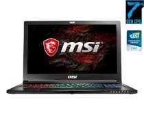 MSI GS63VR 7RF-259XVN Stealth Pro (Intel Core i7-7700HQ 2.8GHz, 16GB RAM, 128GB SSD, 1TB HDD, VGA NVIDIA GeForce GTX 1060, 15.6 inch, FreeDos)