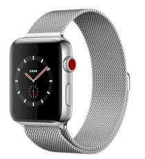 Đồng hồ thông minh Apple Watch Series 3 42mm Stainless Steel Case with Milanese Loop