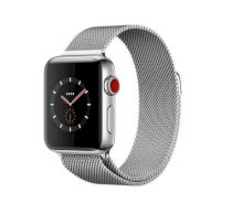 Đồng hồ thông minh Apple Watch Series 3 38mm Stainless Steel Case with Milanese Loop