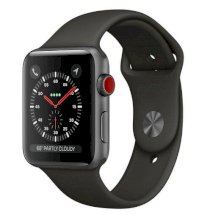 Đồng hồ thông minh Apple Watch Series 3 42mm Space Gray Aluminum Case with Gray Sport Band