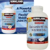 Thuốc bổ khớp Glucosamine HCL 1500 mg with MSM 1500mg