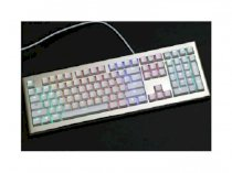 Keyboard Fuhlen SM700 Brown Mechanical Red Switch Case White