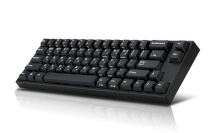Keyboard Leopold FC660M PD PBT Doubleshot Red switch Black
